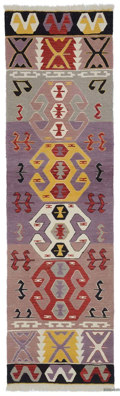 "New Turkish Kilim Runner - 2' 11"" x 9' 11"" (35 in. x 119 in.)"