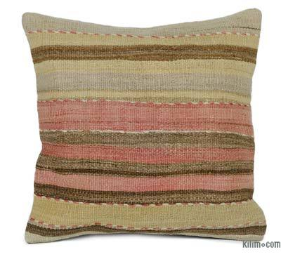"Kilim Pillow Cover - 1' 8"" x 1' 8"" (20 in. x 20 in.)"
