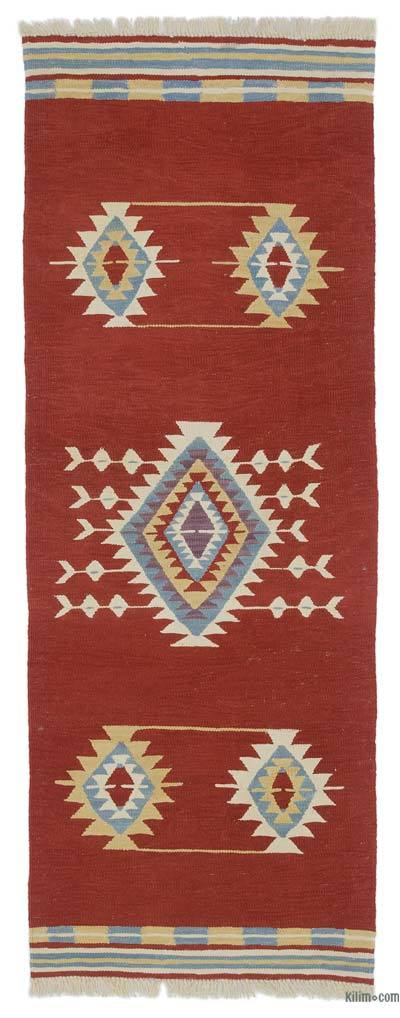 New Handwoven Turkish Kilim Runner