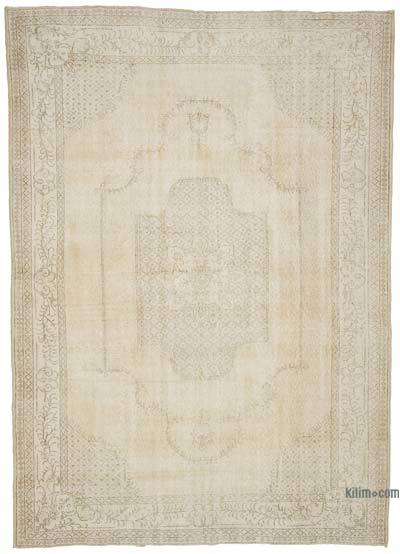 """Vintage Turkish Hand-Knotted Rug - 7' 4"""" x 10' 2"""" (88 in. x 122 in.)"""