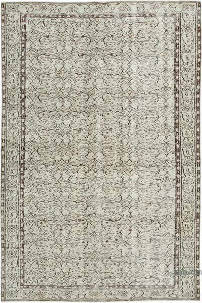 """Vintage Turkish Hand-Knotted Rug - 5' 8"""" x 8' 5"""" (68 in. x 101 in.)"""