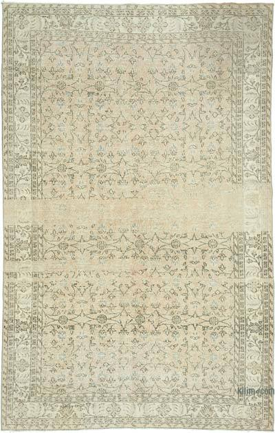 "Vintage Turkish Hand-knotted Area Rug - 6'  x 9' 5"" (72 in. x 113 in.)"