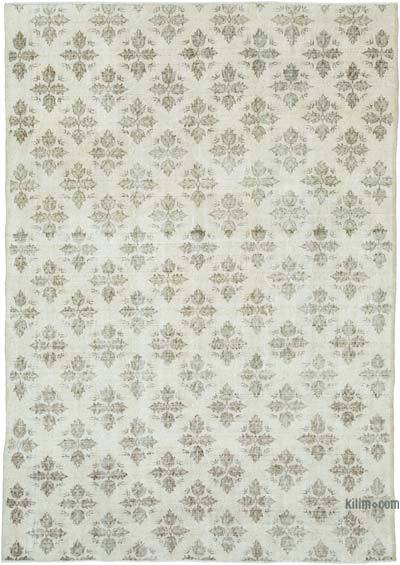 """Vintage Turkish Hand-Knotted Rug - 6' 11"""" x 9' 10"""" (83 in. x 118 in.)"""