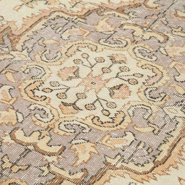 """Vintage Turkish Hand-Knotted Rug - 6'  x 9' 8"""" (72 in. x 116 in.) - K0048590"""