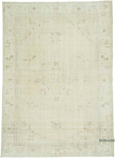"""Vintage Turkish Hand-knotted Area Rug - 6' 6"""" x 9' 1"""" (78 in. x 109 in.)"""