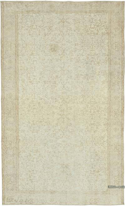 """Vintage Turkish Hand-Knotted Rug - 5' 8"""" x 9' 4"""" (68 in. x 112 in.)"""