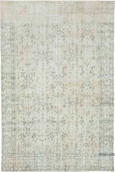 Vintage El Dokuma Anadolu Halısı - 205 cm x 297 cm