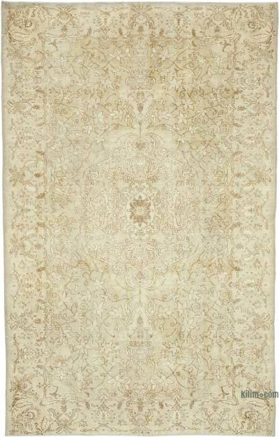 """Vintage Turkish Hand-Knotted Rug - 6' 2"""" x 9' 9"""" (74 in. x 117 in.)"""
