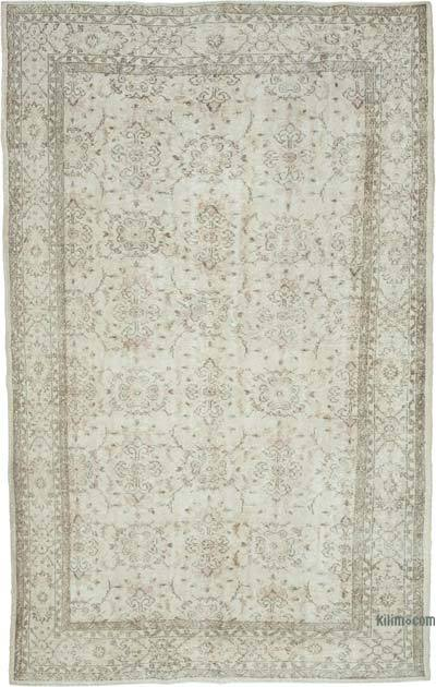 """Vintage Turkish Hand-Knotted Rug - 6' 5"""" x 10' 5"""" (77 in. x 125 in.)"""