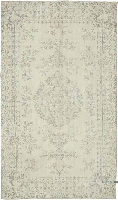 """Vintage Turkish Hand-Knotted Rug - 5' 9"""" x 9' 8"""" (69 in. x 116 in.)"""