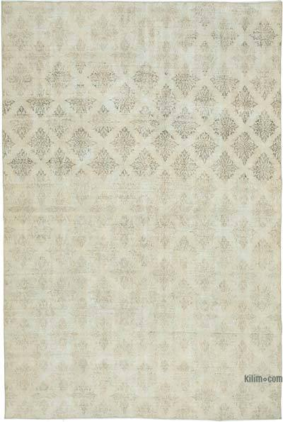 """Vintage Turkish Hand-Knotted Rug - 6' 8"""" x 10' 1"""" (80 in. x 121 in.)"""
