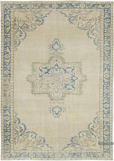 """Vintage Turkish Hand-knotted Area Rug - 6'  x 8' 5"""" (72 in. x 101 in.)"""