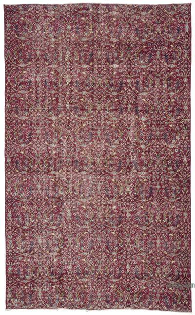 """Vintage Turkish Hand-Knotted Rug - 5' 5"""" x 8' 11"""" (65 in. x 107 in.)"""