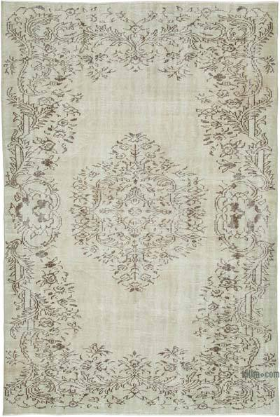 """Vintage Turkish Hand-Knotted Rug - 5' 9"""" x 8' 5"""" (69 in. x 101 in.)"""