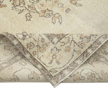 """Vintage Turkish Hand-Knotted Rug - 5' 9"""" x 10' 8"""" (69 in. x 128 in.) - K0048703"""