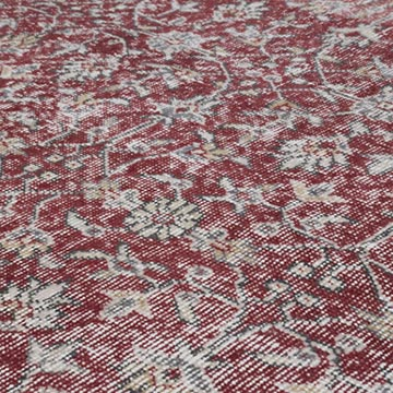 Vintage Turkish Hand-knotted Area Rug - 6' 7# x 10'  (79 in. x 120 in.) - K0048710