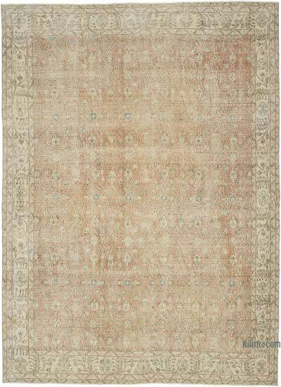 "Vintage Turkish Hand-knotted Area Rug - 6' 11"" x 9' 5"" (83 in. x 113 in.)"