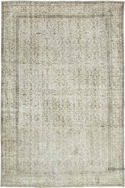 "Vintage Turkish Hand-knotted Area Rug - 6' 8"" x 10' 2"" (80 in. x 122 in.)"