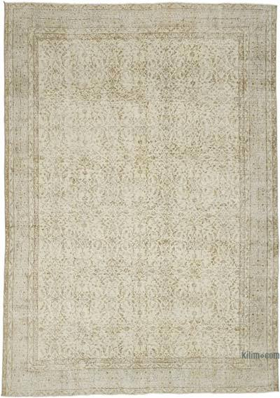 """Vintage Turkish Hand-Knotted Rug - 6' 11"""" x 9' 11"""" (83 in. x 119 in.)"""