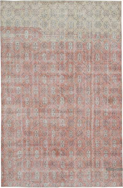 """Vintage Turkish Hand-knotted Area Rug - 7'  x 10' 7"""" (84 in. x 127 in.)"""