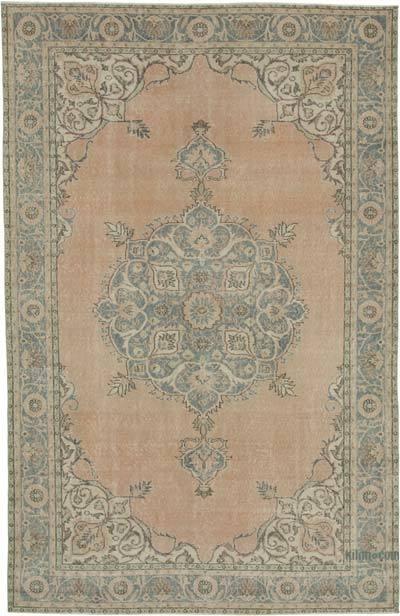 Vintage El Dokuma Anadolu Halısı - 207 cm x 319 cm
