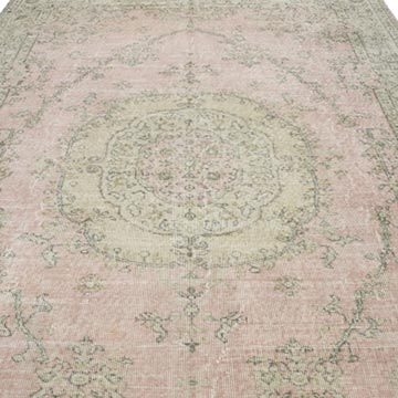 """Vintage Turkish Hand-Knotted Rug - 6' 9"""" x 10' 3"""" (81 in. x 123 in.) - K0048788"""