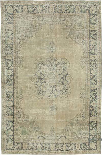 Vintage El Dokuma Anadolu Halısı - 207 cm x 310 cm