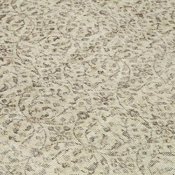 """Vintage Turkish Hand-Knotted Rug - 7' 1"""" x 10' 4"""" (85 in. x 124 in.) - K0048810"""