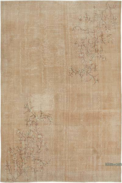 """Vintage Turkish Hand-Knotted Rug - 7' 9"""" x 11' 2"""" (93 in. x 134 in.)"""