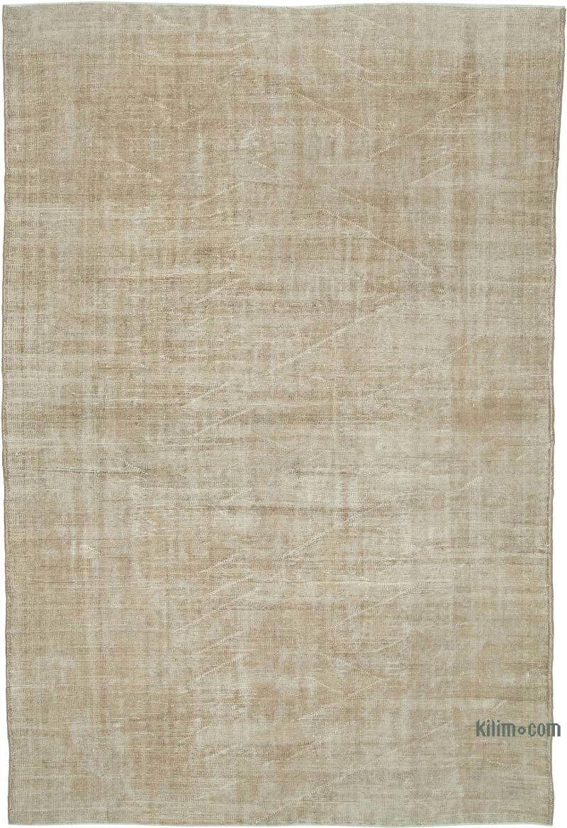 """Vintage Turkish Hand-Knotted Rug - 7'  x 10' 6"""" (84 in. x 126 in.) - K0048836"""