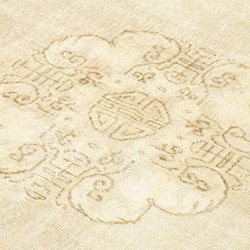 """Vintage Turkish Hand-Knotted Rug - 6' 8"""" x 10' 3"""" (80 in. x 123 in.) - K0048851"""