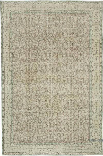 """Vintage Turkish Hand-Knotted Rug - 6' 6"""" x 10' 1"""" (78 in. x 121 in.)"""
