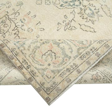 """Vintage Turkish Hand-Knotted Rug - 6' 5"""" x 10' 7"""" (77 in. x 127 in.) - K0048876"""