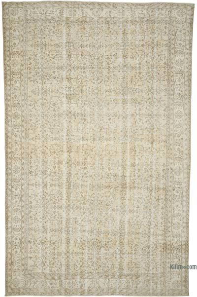 "Vintage Turkish Hand-knotted Area Rug - 7' 1"" x 11' 1"" (85 in. x 133 in.)"
