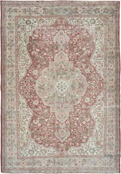 Vintage El Dokuma Anadolu Halısı - 220 cm x 314 cm