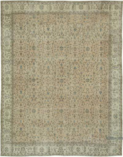 "Vintage Turkish Hand-knotted Area Rug - 8' 4"" x 10' 6"" (100 in. x 126 in.)"