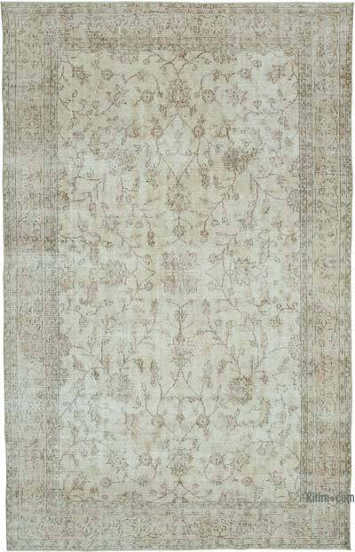 """Vintage Turkish Hand-knotted Area Rug - 7'  x 10' 11"""" (84 in. x 131 in.)"""