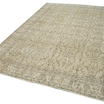 """Vintage Turkish Hand-Knotted Rug - 6' 10"""" x 10' 2"""" (82 in. x 122 in.) - K0048923"""