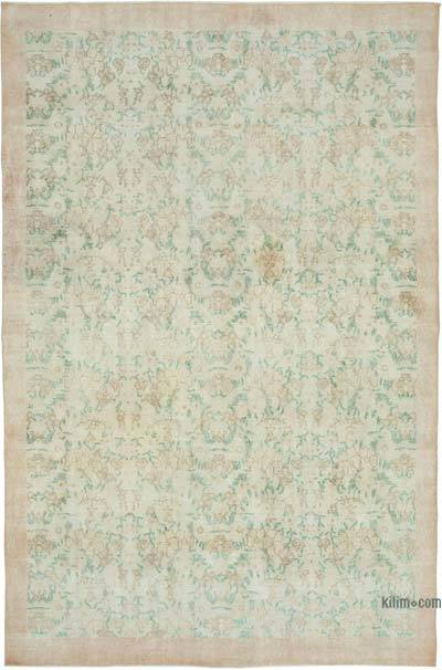"""Vintage Turkish Hand-Knotted Rug - 6' 11"""" x 10' 3"""" (83 in. x 123 in.)"""