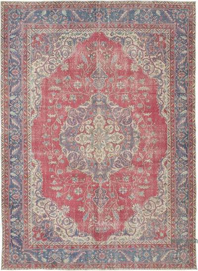 """Vintage Turkish Hand-Knotted Rug - 7' 3"""" x 9' 9"""" (87 in. x 117 in.)"""