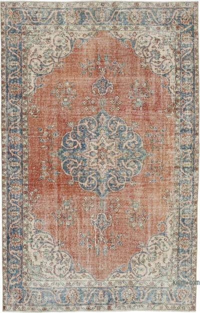 """Vintage Turkish Hand-Knotted Rug - 5' 3"""" x 8' 2"""" (63 in. x 98 in.)"""