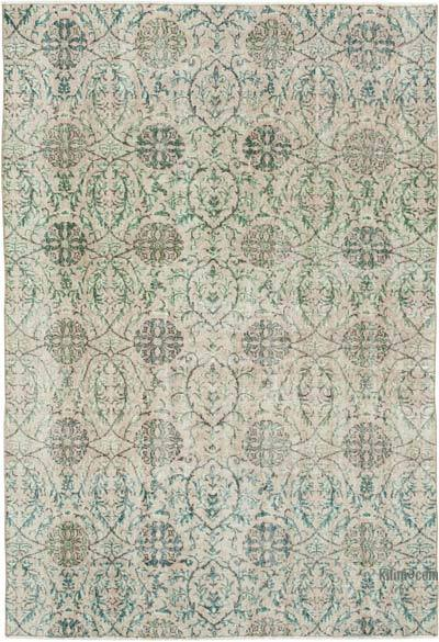 """Vintage Turkish Hand-knotted Area Rug - 5' 1"""" x 7' 1"""" (61 in. x 85 in.)"""