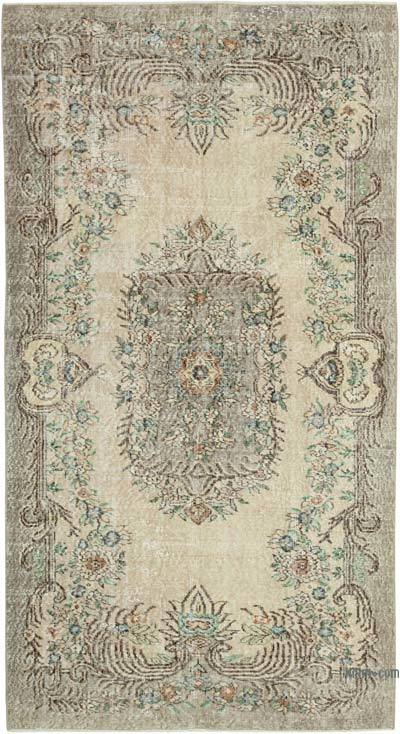 """Vintage Turkish Hand-Knotted Rug - 4' 5"""" x 8' 3"""" (53 in. x 99 in.)"""
