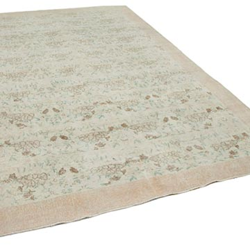 """Vintage Turkish Hand-Knotted Rug - 7' 1"""" x 11' 3"""" (85 in. x 135 in.) - K0049061"""
