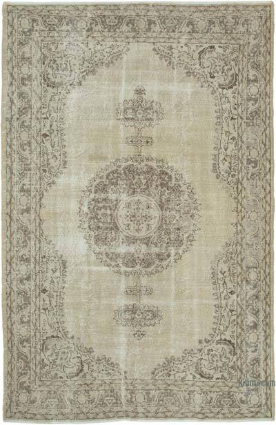 """Vintage Turkish Hand-knotted Area Rug - 7'  x 10' 6"""" (84 in. x 126 in.)"""