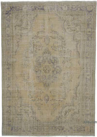 "Vintage Turkish Hand-knotted Area Rug - 8' 5"" x 12' 1"" (101 in. x 145 in.)"