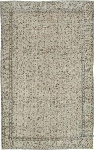 Vintage El Dokuma Anadolu Halısı - 202 cm x 323 cm