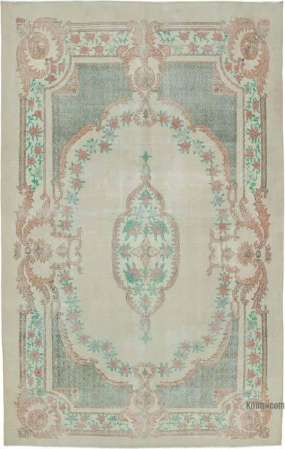 Vintage El Dokuma Anadolu Halısı - 210 cm x 333 cm