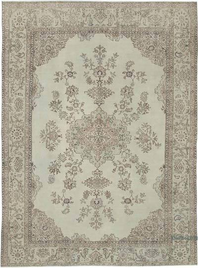 Vintage El Dokuma Anadolu Halısı - 230 cm x 308 cm