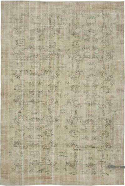 """Vintage Turkish Hand-Knotted Rug - 7' 1"""" x 10' 5"""" (85 in. x 125 in.)"""